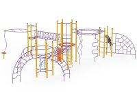 Metalinės-plieninės vaikų žaidimų aikštelės