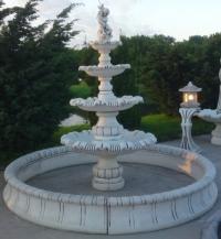 Fontanai, dekoratyviniai betono gaminiai
