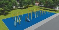 Parkūro-lauko gimnastikos aikštelės