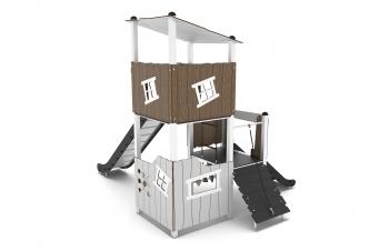 Vaikų žaidimų aikštelės. Nerūdijančio plieno 0303