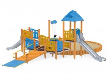 Vaikų žaidimų aikštelės. vaikams su negalia 2