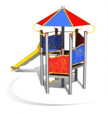 """Vaikų žaidimų aikštelė """"Pilies bokštas 01MP"""""""