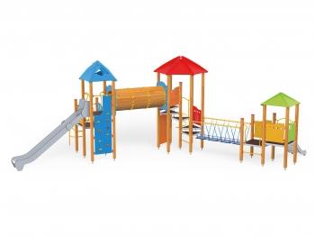 """Vaikų žaidimų aikštelės.""""Pilies bokštas 13"""""""