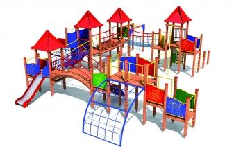 """Vaikų žaidimų aikštelės. """"Q400"""""""