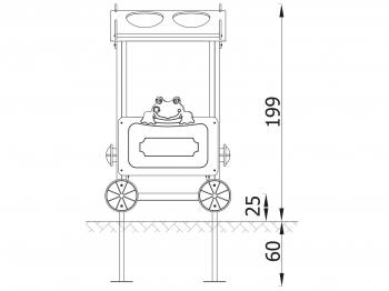vagonas 18224