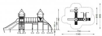 """Vaikų žaidimų aikštelės. """"Q1238"""""""