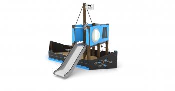 Vaikų žaidimų aikštelės. Laivas wd1414