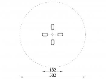 supynė-karuselė 3204