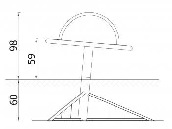 Karuselė-diskas 3212