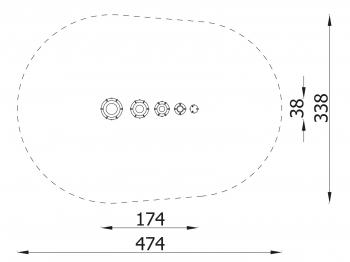 Muzikinis lauko instrumentas 3804