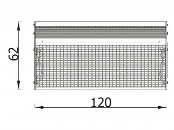 Suoliukas metalinis 5026