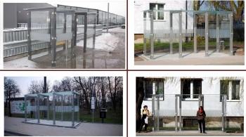 """Viešojo transporto, autobusų stotelės, """"Kubas"""""""