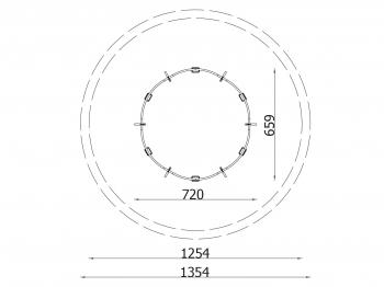 Metalinės supynės qq100