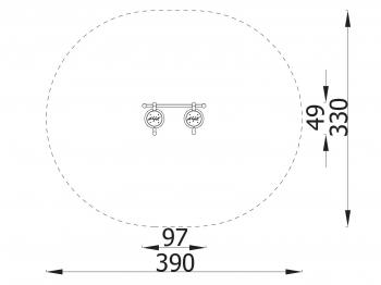 Spyruokliukas dvigubas MK 3