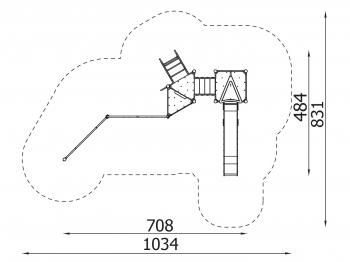 Metalinė žaidimų aikštelė J012
