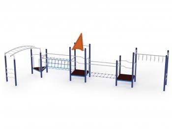 Metalinė žaidimų aikštelė J030