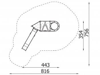 Metalinė žaidimų aikštelė J8033