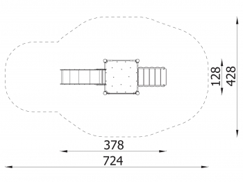 Metalinė žaidimų aikštelė J8073