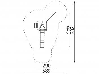 Metalinė žaidimų aikštelė J8112