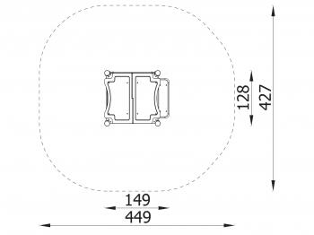 Metalinė žaidimų aikštelė J9101