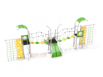 Nerūdijančio plieno žaidimų aikštelės K632