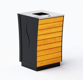 Šiukšlių dėžė su pelenine ir užraktu JMT0239