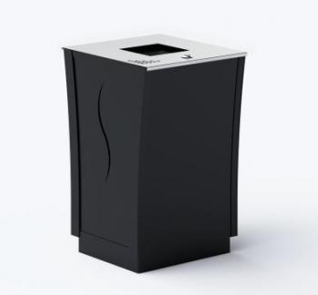 Šiukšlių dėžė su pelenine ir užraktu JMT0240