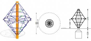 Laipiojimo tinklas deimantas