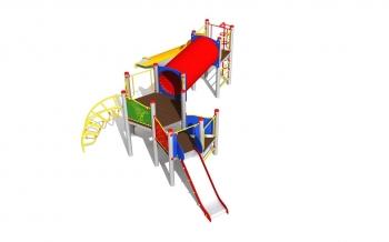 """Vaikų žaidimų aikštelė """"Platforma08MP"""""""