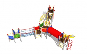 """Vaikų žaidimų aikštelė """"Platforma12MP"""""""