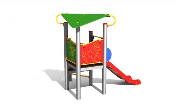 """Vaikų žaidimų aikštelė """"Bokštas01MP"""""""