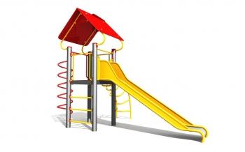 """Vaikų žaidimų aikštelė """"Bokštas07MP"""""""