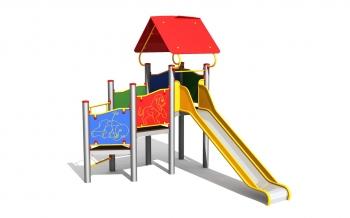 """Vaikų žaidimų aikštelė """"Bokštas09MP"""""""