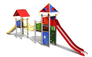 """Vaikų žaidimų aikštelė """"Bokštas18MP"""""""