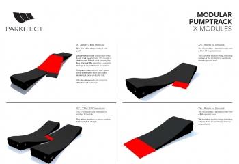 Pumptrack  priedai X
