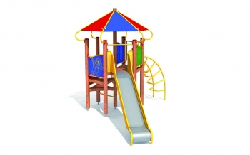 """Vaikų žaidimų aikštelės. """"Pilies bokštas 03"""""""