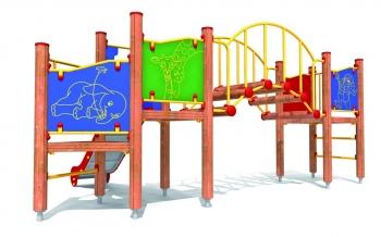 """Vaikų žaidimų aikštelės. """"Platforma03"""""""