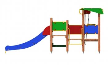 """Vaikų žaidimų aikštelės. """"Klasika Pres2"""""""