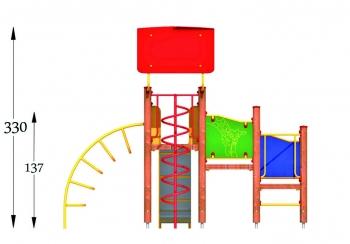 """Vaikų žaidimų aikštelės. """"Bokštas11"""""""