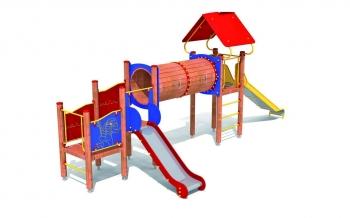 """Vaikų žaidimų aikštelės. """"Bokštas14"""""""