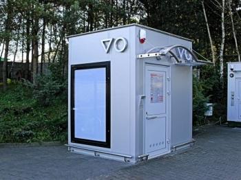 """Automatinis lauko tualetas """"Plienas"""""""