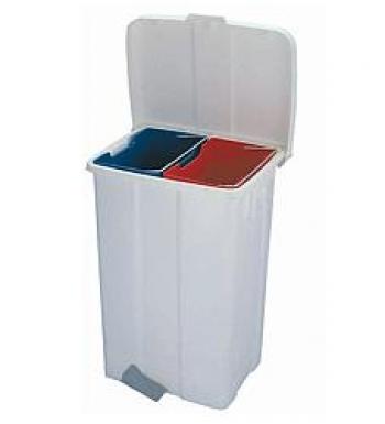 Rūšiavimo šiukšlių dėžės. Talpa 50 L. Kodas 5020
