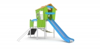 Vaikų žaidimų aikštelės. Nerūdijančio plieno 0300