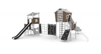 Vaikų žaidimų aikštelės. Nerūdijančio plieno 0301