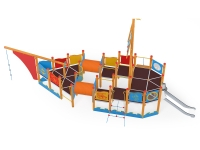 Žaidimų aikštelė-laivas 2