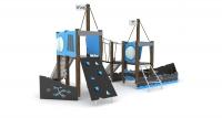Vaikų žaidimų aikštelės. laivas wd1415