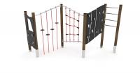 Vaikų žaidimų aikštelės. laipiojimo kompleksas wd1419