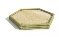 """Smėlio dėžė """"šešiakampė"""""""