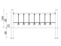 Metalinė kliūtis- tiltelis