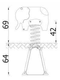 Spyruokliukas dramblys MK